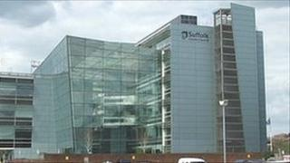 Suffolk County Council's Endeavour House headquarters