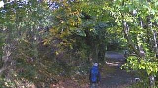 Footpath between Gillespie Road to West Mill Pic: Google