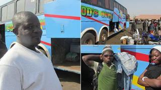 Southern Nigerians at the the Yola Motor Park on Thursday 12 January 2012