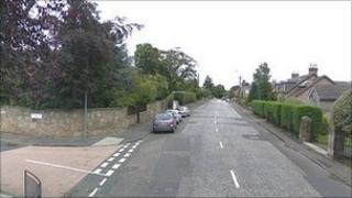 Lanark Road at Woodhall Drive junction Pic: Google