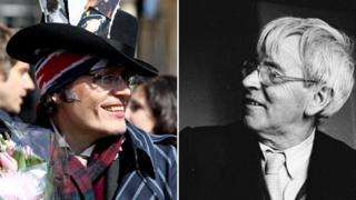 Adam Ant and Stanley Spencer