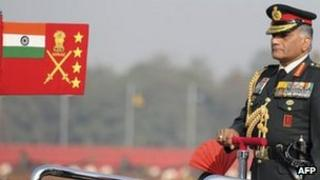 Indian Army Chief VK Singh