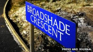Broadshade Crescent [Pic: Press and Journal]