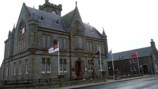 Shetland Isles Council office