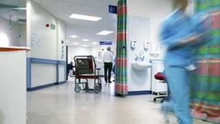 Nurse in ward