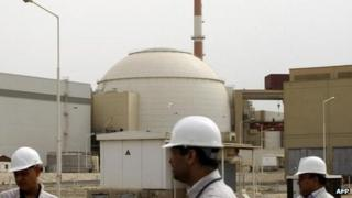 Bushehr nuclear power plant in Iran (file photo)