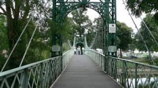 Porthill bridge, Shrewsbury