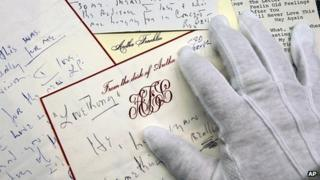 Letters from the Rock and Roll Hall of Fame and Museum Library and Archives