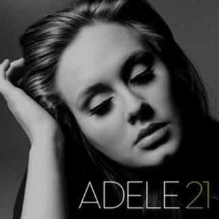 Cover of Adele's album, 21