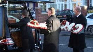 Frank Cook funeral
