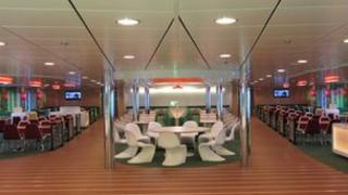 Stena ferry fitted out by MJM