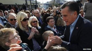 Mitt Romney campaigns in South Carolina