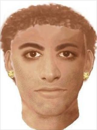 Efit of a suspect wanted in connection with sex assault