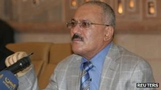 Ali Abdullah Saleh (4 January 2012)