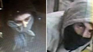 CCTV pictures of the two suspects