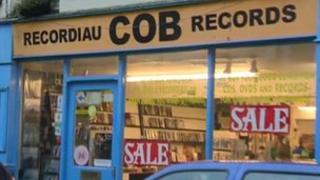 Cob Records, Bangor, Gwynedd, January 2012