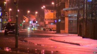 Two parts of Londonderry are closed after two bombs went off on Thursday night. No-one was injured.