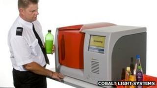 INSIGHT100 liquid scanning device
