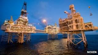 Nexen's Buzzard oil facility in the North Sea