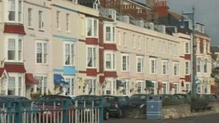 Hotels on Weymouth seafront (generic)