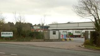 The Stobart site at Alcester