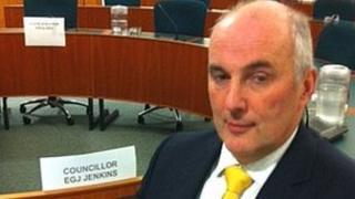 Liberal Democrat councillor Esmond Jenkins