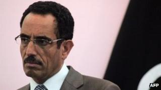 Abdel Hafiz Ghoga in Benghazi in October 2011