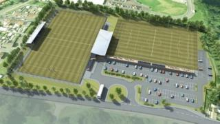 Artist's impression of the planned sporting academy