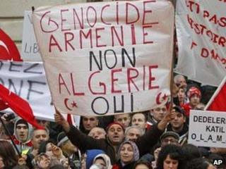 Turkish protesters in Paris
