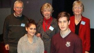 left: Jonathan Latimer, Pamela Martin and Chairman Anne Lee.