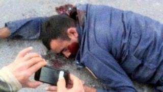 Badly beaten police officer lies unconscious in Shia village