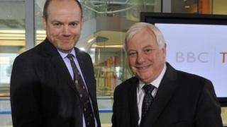 Mark Thompson and Lord Patten