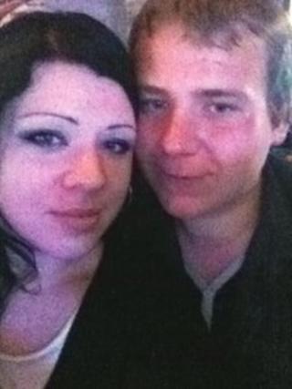 Kate Barnes and Nathan Smith