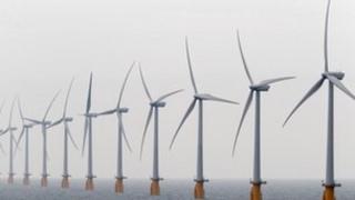 Vattenfall wind turbines