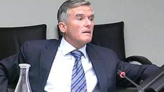 Ivor Callely (RTE picture)