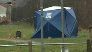 Police tent