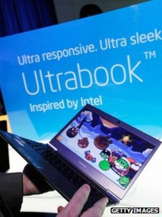 Intel Ultrabook at CES