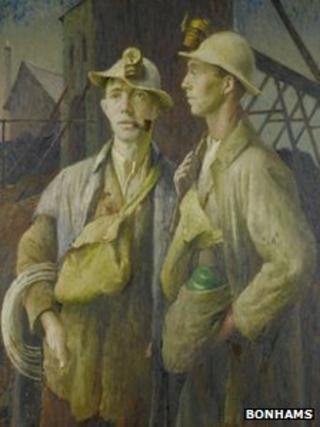 Harold Harvey's Tin Miners