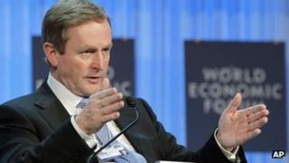 Enda Kenny in Davos