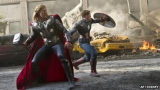 The Avengers. Pic: AP/Disney