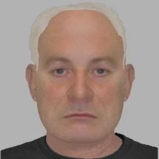 E-fit of the man wanted over the escape of the prisoner
