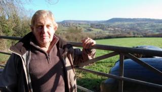 Frank Tunbridge in Edge, near Stroud