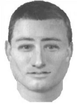 An e-fit of a man police would like to question