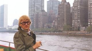 David Hockney in New York