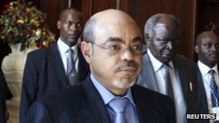 Meles Zenawi ((27 January 2012)