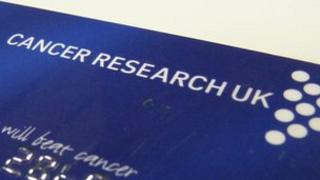 A Cancer Research UK credit card