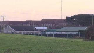 Ballykinlar Army base