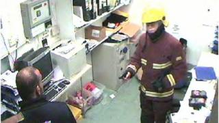 CCTV image of one of the robberies