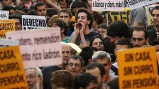 Spanish youth march (Jan 2012)
