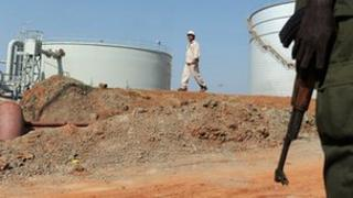 oil storage facility in unity state (file photo)